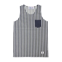 드라이프(DRIFE) WASHED ST SLEEVELESS TEE-INDIGO