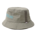 드라이프(DRIFE) DRIZZLING WAVE EMBROIDERY BUCKET HAT-BEIGE