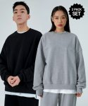어커버(ACOVER) [1+1] Terry Tumble Crewneck Sweatshirts