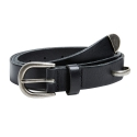 앤더슨벨(ANDERSSON BELL) UNISEX SADDLE LEATHER BELT aaa036(Black)