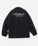 커버낫(COVERNAT) 16 A/W COACH JACKET BLACK
