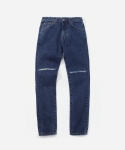 커버낫(COVERNAT) 16A/W DEMAGE DENIM PANTS - SLIM FIT