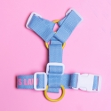 [PET] Lovely harness (Sky blue/이름각인 하네스)