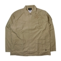 스투시() STUSSY UNIFORM CARGO SHIRT [1] (KHAKI)