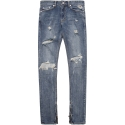 모디파이드(MODIFIED) M#1014 vinscully washed zip jeans