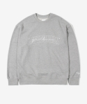 레이어 유니온(LAYER UNION) SCRIPT YC SWEATSHIRTS GREY