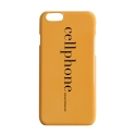 챈스챈스(CHANCECHANCE) Cellphonecase(Yellow)
