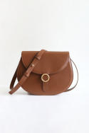 에이아이오유(AIOU) Mini Bag Gold Brown