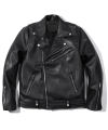 Zipper Leather Rider Jacket