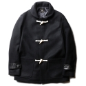 루이드() Duffle Coat -Black-