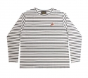 런디에스(RUNDS) RUNDS stripe long sleeve (white)