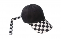 런디에스(RUNDS) RUNDS checkerboard 3type ball cap (black)