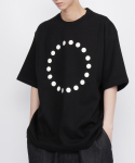 로우 투 로우(RAW TO RAW) SYMBOL SHORT SLEEVE TEE(BLACK)