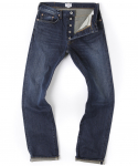 아웃스탠딩(OUTSTANDING) LOT 169 WASHED SELVEDGE DENIM [INDIGO]