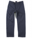 아웃스탠딩(OUTSTANDING) NEW ORLEANS CHECK PANTS [NAVY]