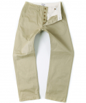 아웃스탠딩(OUTSTANDING) U.S.N CHINO TROUSERS [BEIGE]
