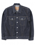 아웃스탠딩(OUTSTANDING) LOT 265 SELVEDGE DENIM JACKET [INDIGO]