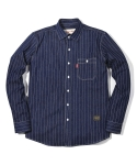 러기드하우스(RUGGED HOUSE) DENIM WIDE LINE SHIRTS