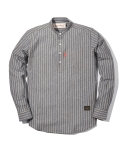 러기드하우스(RUGGED HOUSE) STRIPE HENLYNECK SHIRTS