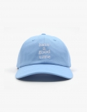 해브 어 굿 타임(HAVE A GOOD TIME) Logo Baseball Cap - Light Blue