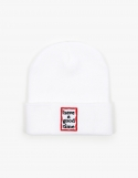 해브 어 굿 타임(HAVE A GOOD TIME) Frame Beanie - White