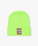 해브 어 굿 타임(HAVE A GOOD TIME) Frame Beanie - Neon