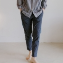 블레어 바이 스퀘어(BLAIR BY SQUARE) Colour Block Slacks (2 colour)