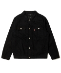 바스틱(VASTIC) Vastic Cotton Trucker Jacket Black