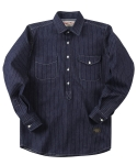 러기드하우스(RUGGED HOUSE) WABASH PULLOVER WORK SHIRTS