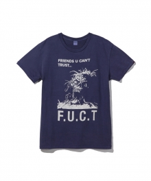 [퍽트 에스에스디디] FUCT SSDD / OPEN YOUR MOUTH T-SHIRT / NAVY