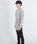 페이드6(FADE6) LAYERED T-SHIRTS GREY