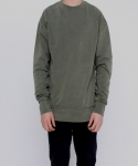 페이드6(FADE6) WASHED KHAKI SWEATSHIRT