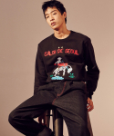 살롱드서울(SALON DE SEOUL) Unisex Signature Sweat Shirt (BLACK)