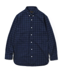 유니폼브릿지(UNIFORM BRIDGE) 16aw check long shirts navy