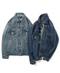유니폼브릿지() 16aw type2 washing denim jacket