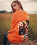 언아웃핏(AOTT) UNISEX COUPDETAT OVER MTM ORANGE AT-05