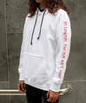 조드(ZOD) RED/WHITE YOLO HOODY