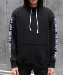 WHITE/BLACK YOLO HOODY