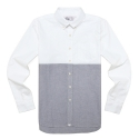 드라이프(DRIFE) SPORT B.D SHIRTS-WHITE/BLUE