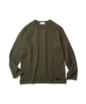 에스피오나지(ESPIONAGE) Surplus LS Tee Olive