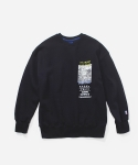 블루야드(BLUE YARD) DINO CREWNECK NAVY
