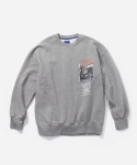 블루야드(BLUE YARD) DINO CREWNECK GRAY