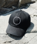 로우 투 로우(RAW TO RAW) [Edition 3] FRONT SYMBOL HEAVY DENIM BALL CAP