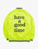 해브 어 굿 타임(HAVE A GOOD TIME) Varsity Jacket - Volt