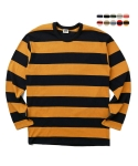 에이테일러(A-TAILOR) Unstained stripe T-shrit
