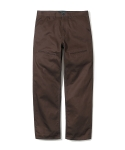 유니폼브릿지(UNIFORM BRIDGE) herringbone chino pants brown