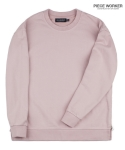 피스워커() Vintage heavy Sweat shirt side zipper - Pink