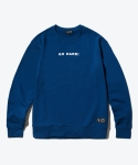 셔터(SHUTTER) SHUTTER SLOGAN SWEAT SHIRTS (DEEP BLUE)