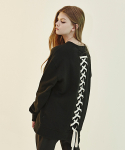 디바이디그낙() Back Lace-Up Sweat Shirts (IV)