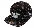 더블에이에이 피티드(DOUBLE AA FITTED) DAF logo Print Cap